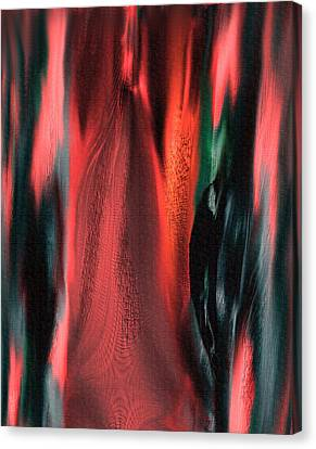 Flames Canvas Print by Yul Olaivar