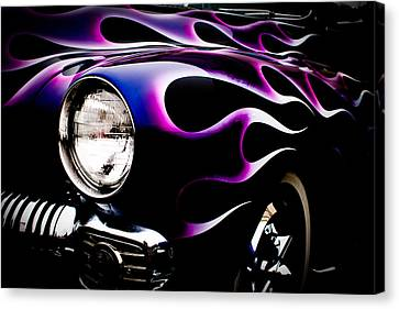 Flaming Classic Canvas Print