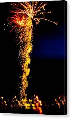 Flaming Tornado Canvas Print by Brian Gibson