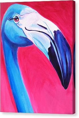 Flamingo Canvas Print by Alicia VanNoy Call