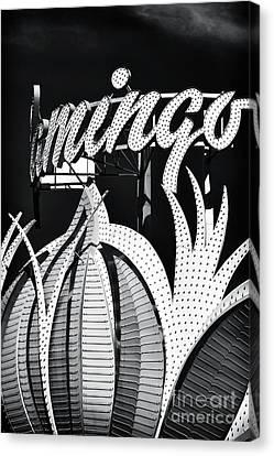 Flamingo Las Vegas Canvas Print by John Rizzuto