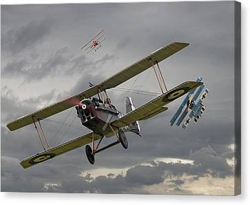 Flander's Skies Canvas Print by Pat Speirs