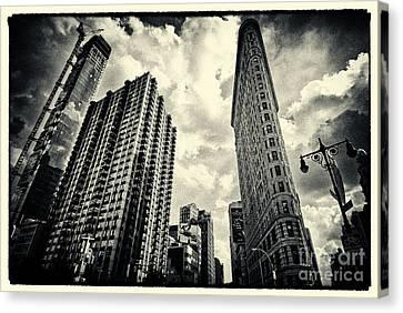 Flat Iron Building New York City Canvas Print