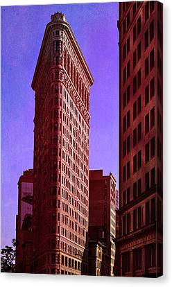 Flat Iron  Canvas Print by Laura Fasulo