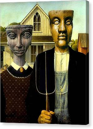 Flat Top Gothic Canvas Print by James Stough