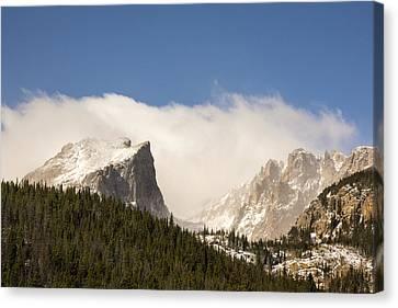 Flat Top Mountain - Rocky Mountain National Park Estes Park Colorado Canvas Print by Brian Harig