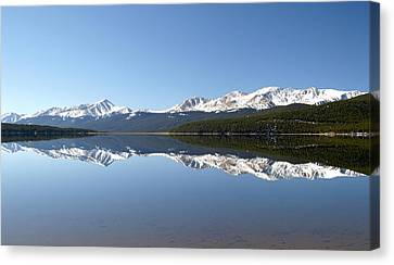 Flat Water Canvas Print by Jeremy Rhoades