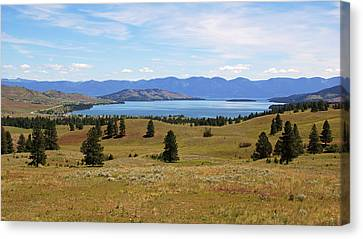 Flathead Lake View Canvas Print
