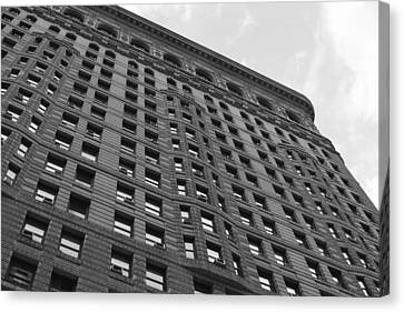Canvas Print featuring the photograph Flatiron Building by Steven Macanka