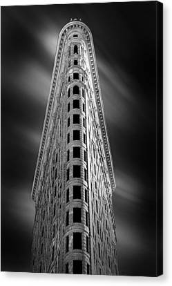 Flatiron Nights Canvas Print by Az Jackson