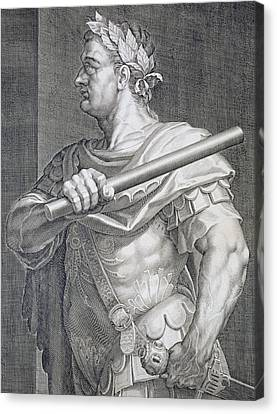 Flavius Domitian Canvas Print