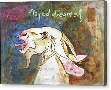 Flayed Dreams Canvas Print by Sumit Banerjee