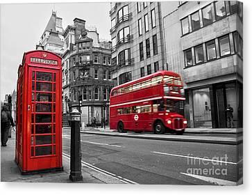 Fleet Street London Canvas Print