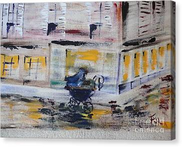 Fleeting Time Canvas Print by PainterArtist FIN