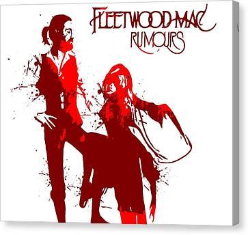 Fleetwood Mac Rumours Canvas Print by Dan Sproul