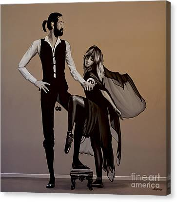 Realistic Canvas Print - Fleetwood Mac Rumours by Paul Meijering