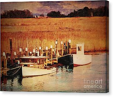 Flemings Landing Delaware Canvas Print by Lianne Schneider