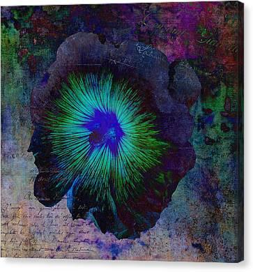 Fleur De Bleu De Cru Canvas Print