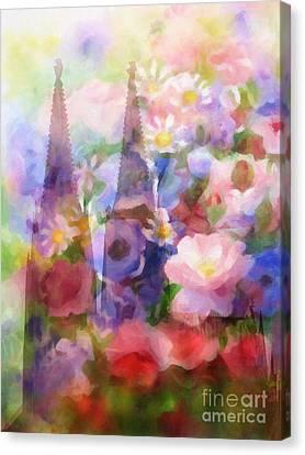 Dom Canvas Print - Fleur De Cologne by Lutz Baar