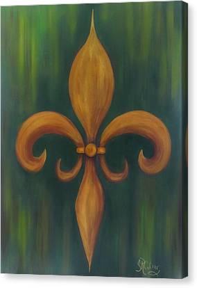 Fleur-de-lis Canvas Print
