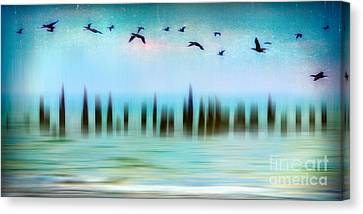 Flight - A Tranquil Moments Landscape Canvas Print by Dan Carmichael