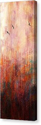 Flight Home - Abstract Art Canvas Print by Jaison Cianelli