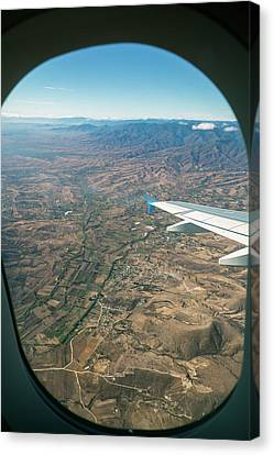 Flight Over Oaxaca Canvas Print