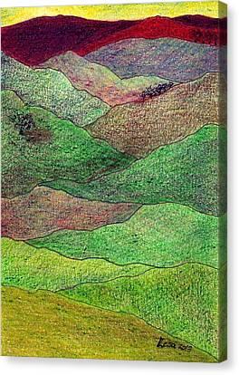 Flint Hills Fall Canvas Print