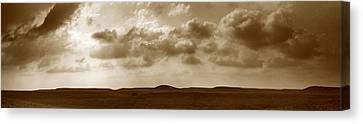 Flint Hills Panorama Canvas Print by Thomas Bomstad