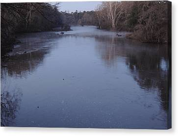 Canvas Print featuring the photograph Flint River 1 by Kim Pate
