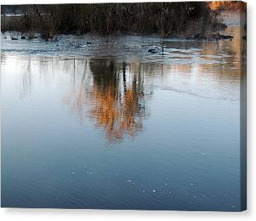 Canvas Print featuring the photograph Flint River 21 by Kim Pate