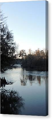 Canvas Print featuring the photograph Flint River 23 by Kim Pate