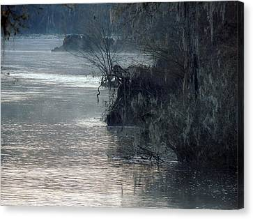 Canvas Print featuring the photograph Flint River 28 by Kim Pate