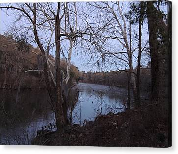 Canvas Print featuring the photograph Flint River 4 by Kim Pate