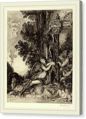 Félix Bracquemond, La Dionade, French, 1833-1914 Canvas Print