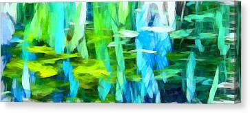 Float 4 Horizontal Canvas Print by Angelina Vick