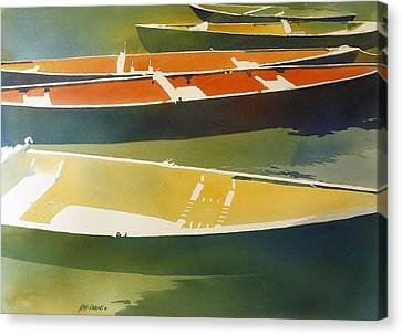 Floaters Canvas Print by Kris Parins