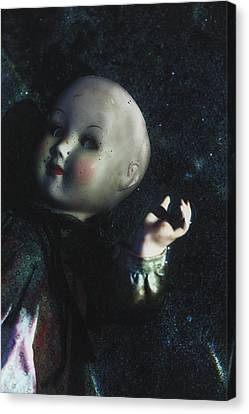 Floating Doll Canvas Print by Joana Kruse