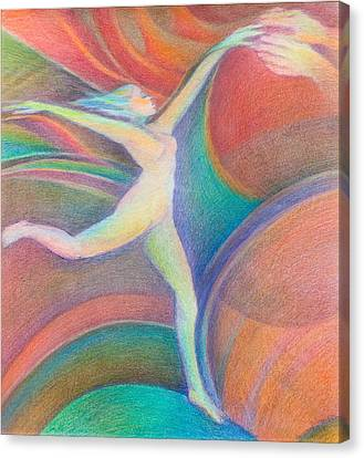 Floating Canvas Print by Hannah Greenberg