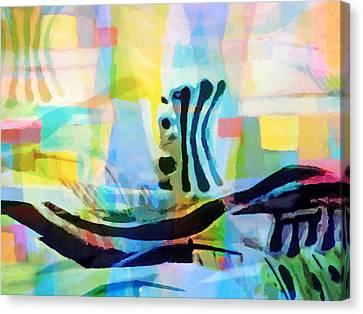 Floating Canvas Print by Lutz Baar