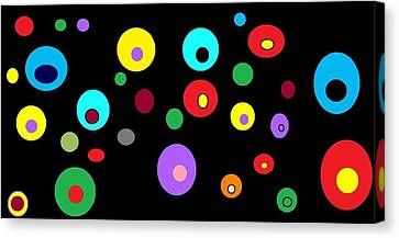Floating Orbs # 4 Canvas Print