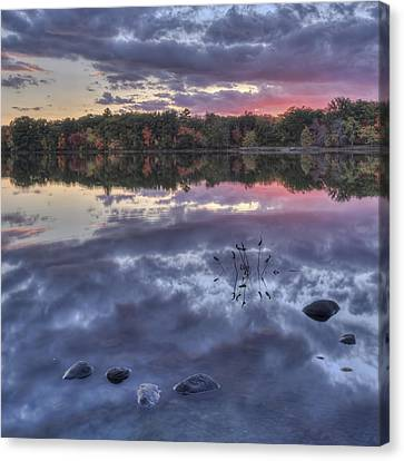 Floating Rocks Canvas Print by Jean-Pierre Ducondi