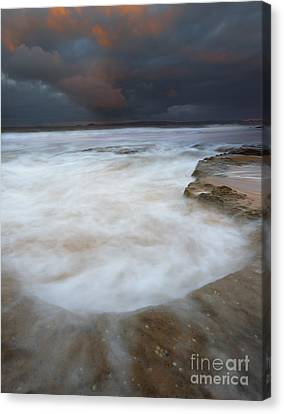Flooded By The Tides Canvas Print by Mike Dawson