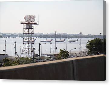 Flooding Canvas Print - Flooding Of The Airport In Bangkok Thailand - 01131 by DC Photographer