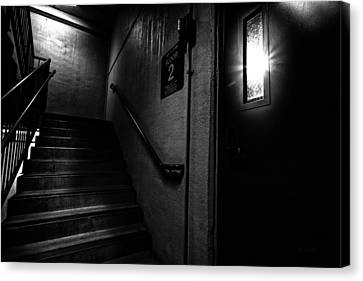 Floor Two After Dark Canvas Print by Bob Orsillo