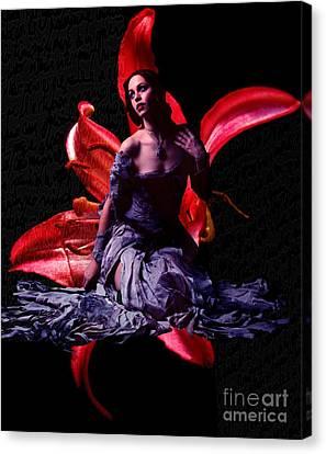 Flora -color Version- Canvas Print