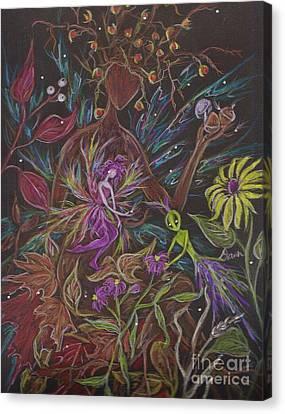 Flora Canvas Print by Dawn Fairies