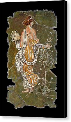 Greece Canvas Print - Flora by Steve Bogdanoff