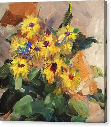 Floral 15 Canvas Print by Mahnoor Shah