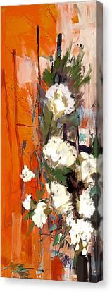 Floral 17b Canvas Print by Mahnoor Shah